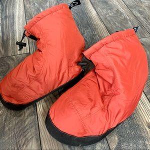 Sierra Designs Down Slipper Booties Small 6 7